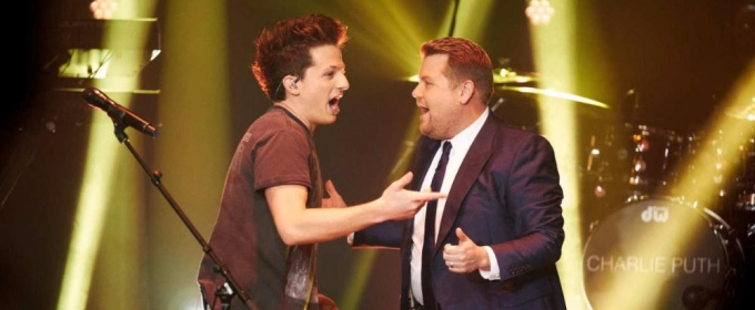 VIDEO: Charlie Puth Performs 'Attention' on LATE LATE SHOW