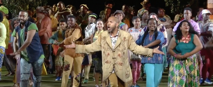 BWW TV: Watch Highlights from Public Works' AS YOU LIKE IT at the Delacorte