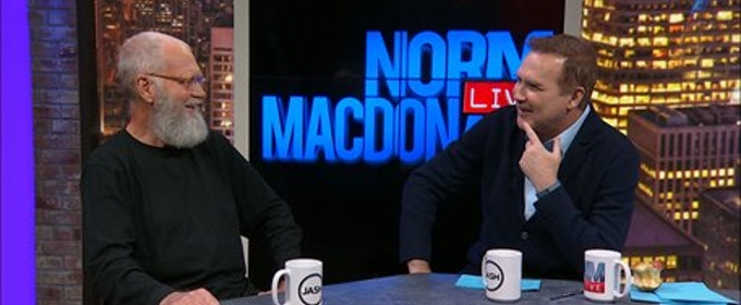 VIDEO: First Look - David Letterman Guests on Season Premiere NORM MACDONALD LIVE
