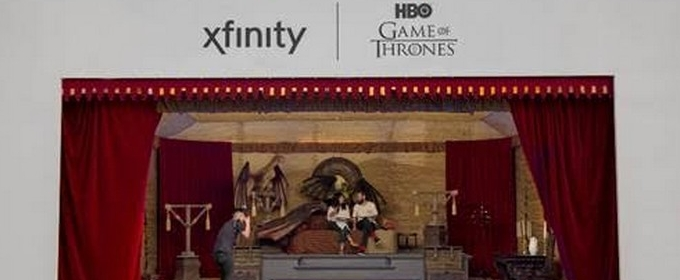 Xfinity Creates Game of Thrones and more -Inspired TV Diner Pop-Up for Comic Con