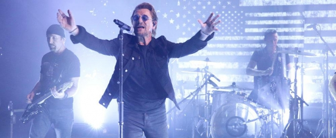 VIDEO: Rock Icons U2 Perform 'Bullet the Blue Sky' on TONIGHT SHOW