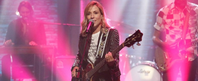 VIDEO: Sheryl Crow Performs New Song 'Roller Skate' on LATE NIGHT