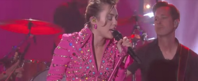 VIDEO: Miley Cyrus Performs New Song 'Younger Now' on ELLEN