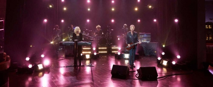 VIDEO: Lindsey Buckingham & Christine McVie Perform 'Lay Down for Free' on 'CORDEN'