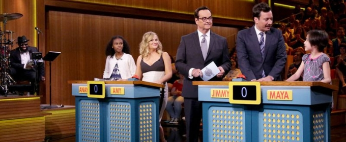 VIDEO: Any Poehler & Jimmy Fallon Play 'Are You Smarter Than a Smart Girl?'