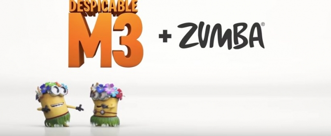 Universal & Zumba Fitness Present 'Tiki Tiki Babeloo' in Support of DESPICABLE ME 3