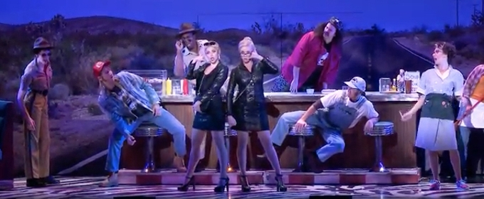 VIDEO: Cortney Wolfson & Stephanie Wall Order Up the 'Business Woman Special' in 'ROMY AND MICHELE' at 5th Avenue Theatre