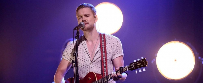 VIDEO: Chord Overstreet Performs 'Hold On' on TONIGHT SHOW