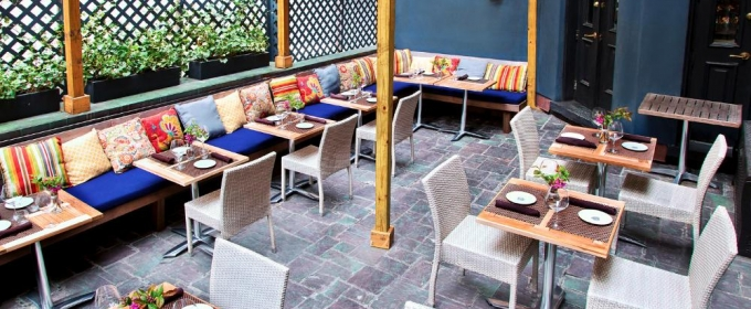 Bar of the Week: THE SHAKESPEARE Debuts Garden Terrace Happy Hour on Summer Fridays