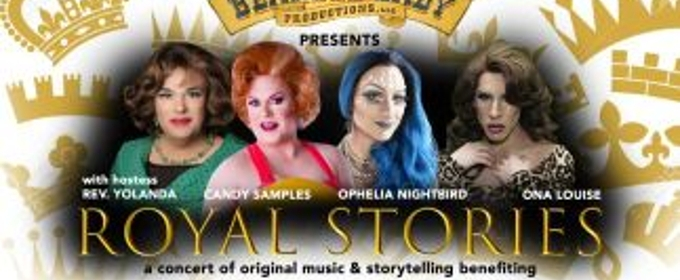 royal stories to benefit drag queen story hour at the