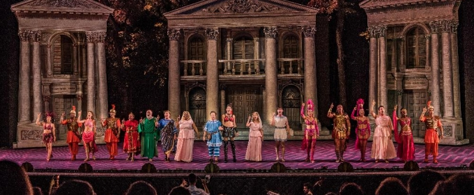 VIDEO: Watch Jeffrey Schecter, John Tartaglia and More in Highlights from A FUNNY THING HAPPENED ON THE WAY TO FORUM at The Muny