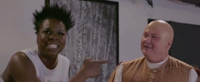 VIDEO: Leslie Jones Gets Surprise Visit from GAME OF THRONES' 'Lord Varys'