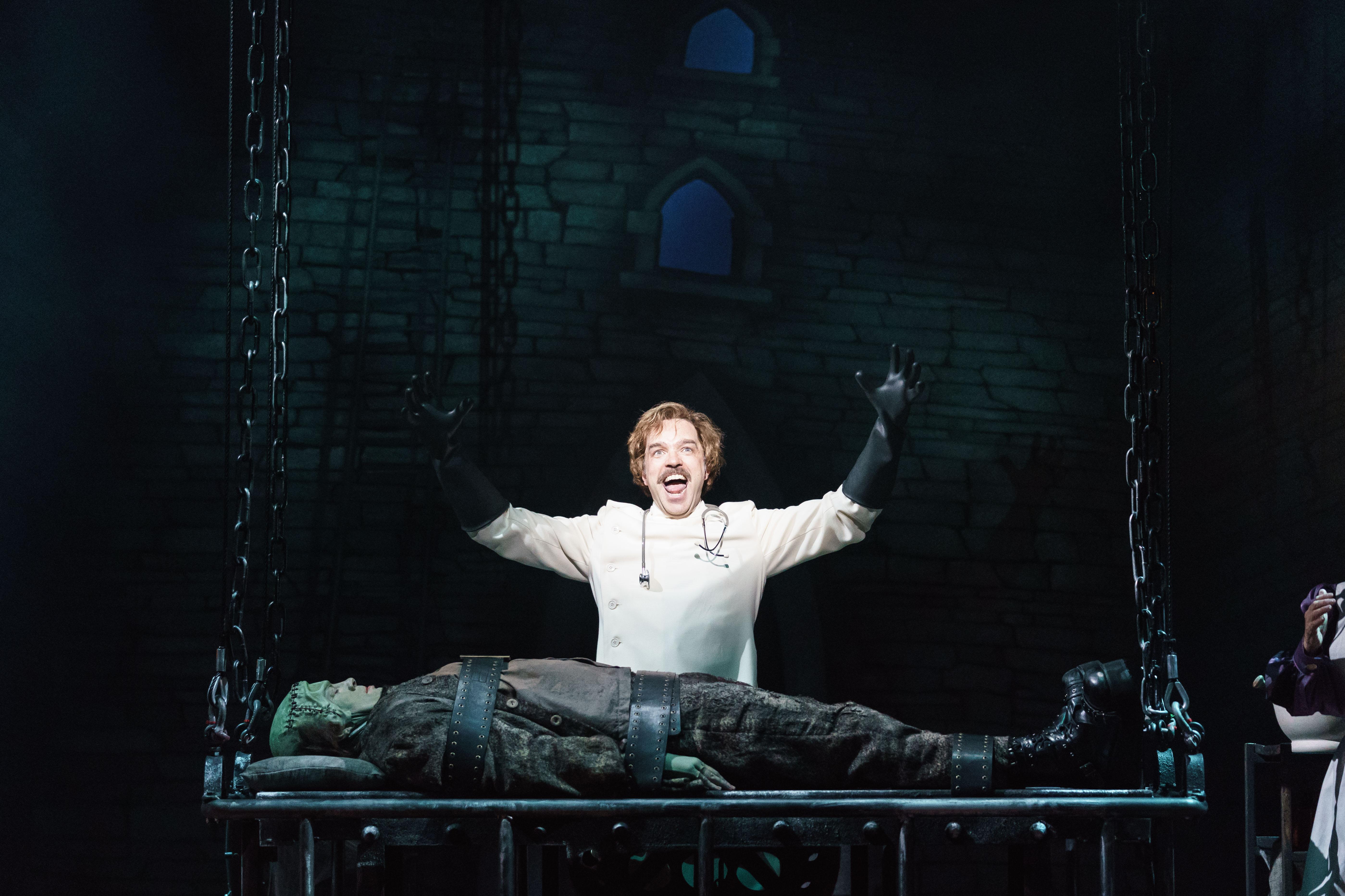 BWW Review: YOUNG FRANKENSTEIN, Garrick Theatre