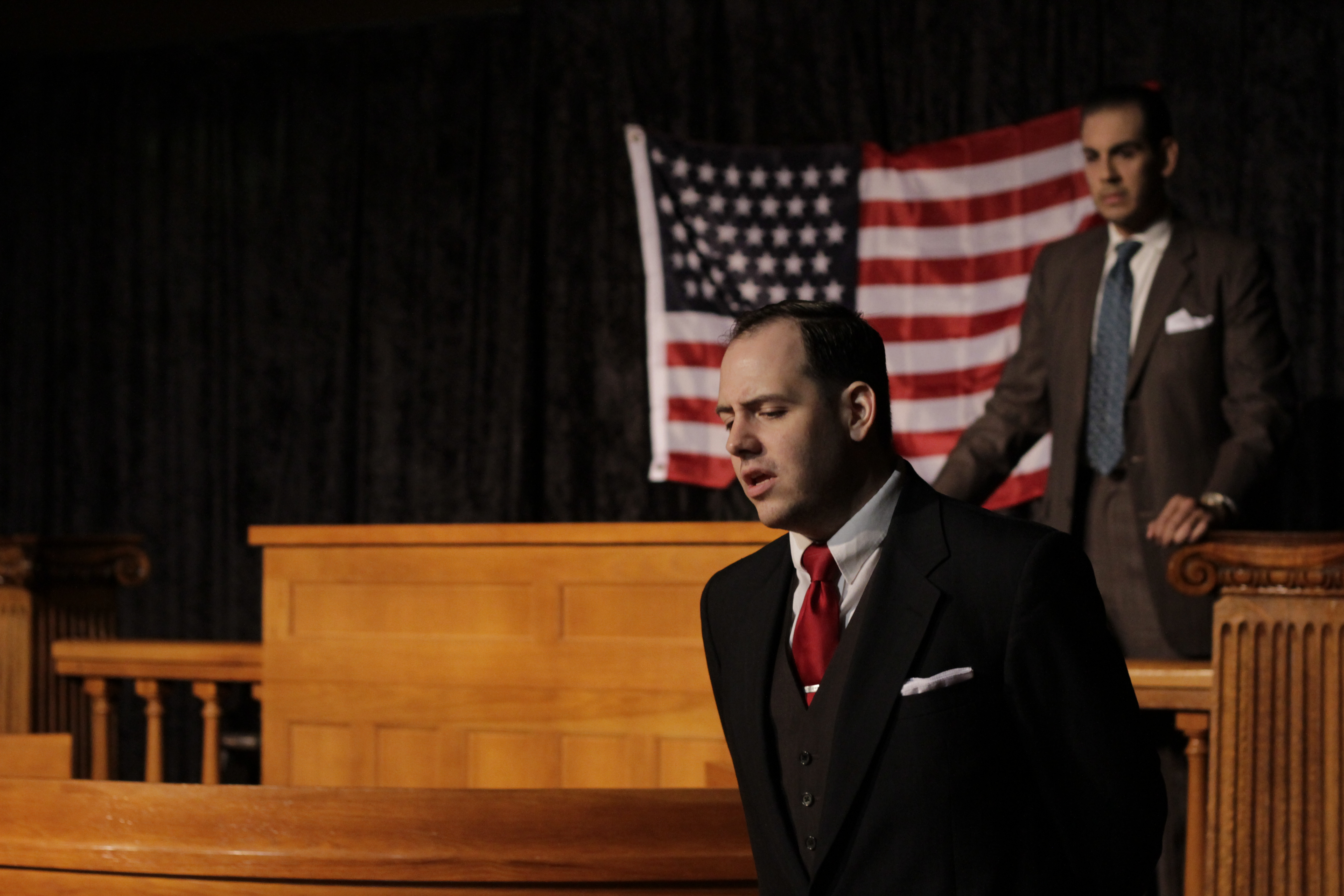BWW Review: YOU CAN'T DO THAT DAN MOODY Wins Its Case at the Georgetown Palace Theatre