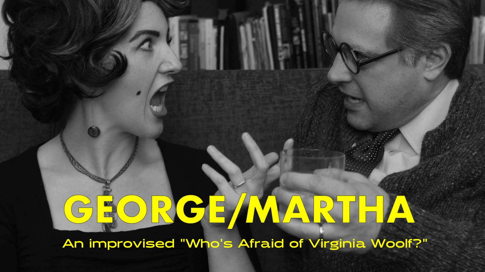 GEORGE/MARTHA Brings Improvised Fun and Games to the Peoples Improv Theater