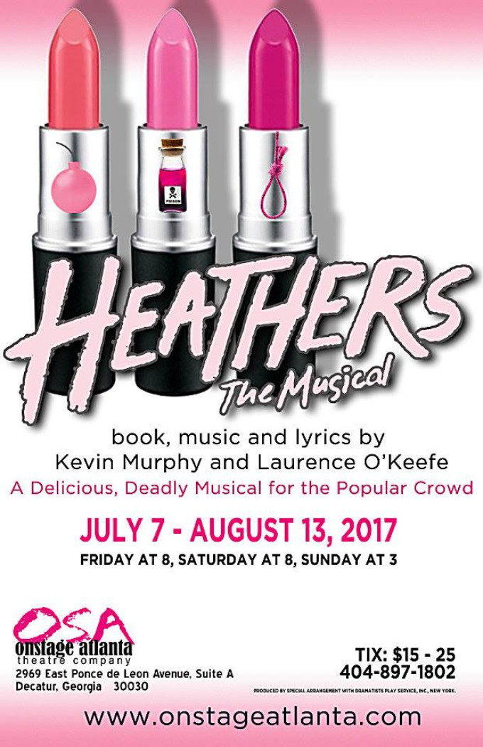 BWW Review: HEATHERS THE MUSICAL at OnStage Atlanta