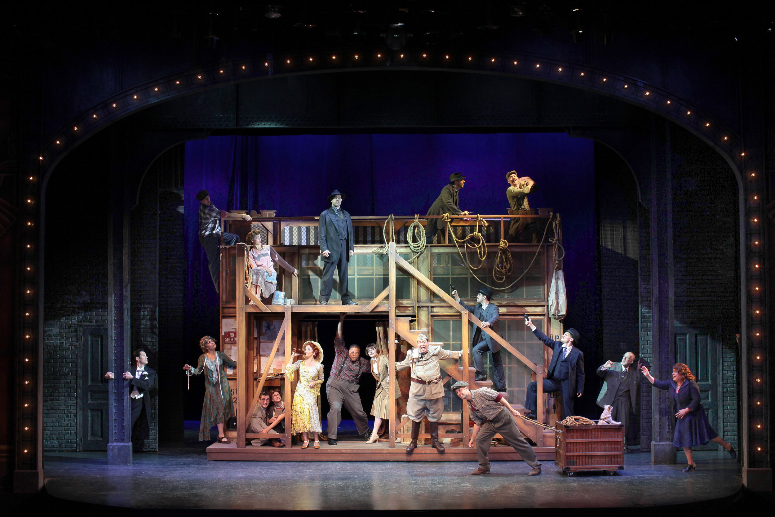 3b6ed7b861fe51 BWW Review  BULLETS OVER BROADWAY at Ogunquit Playhouse