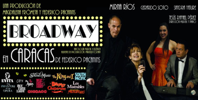 BROADWAY IN CARACAS To Bring Medley Of Classic Broadway Tunes To Venezuela