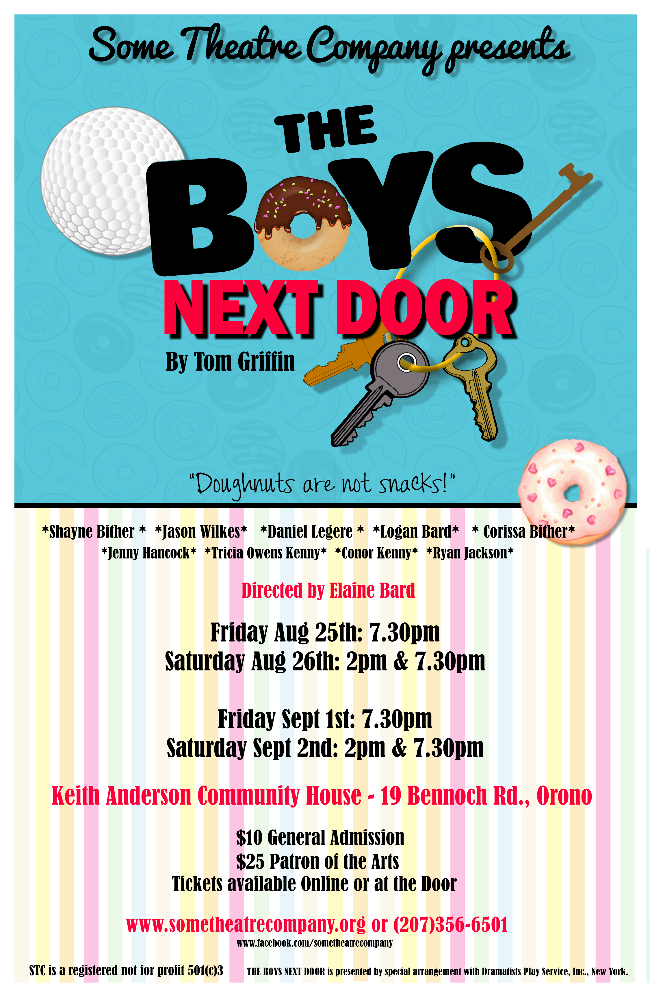 THE BOYS NEXT DOOR at Some Theatre Company