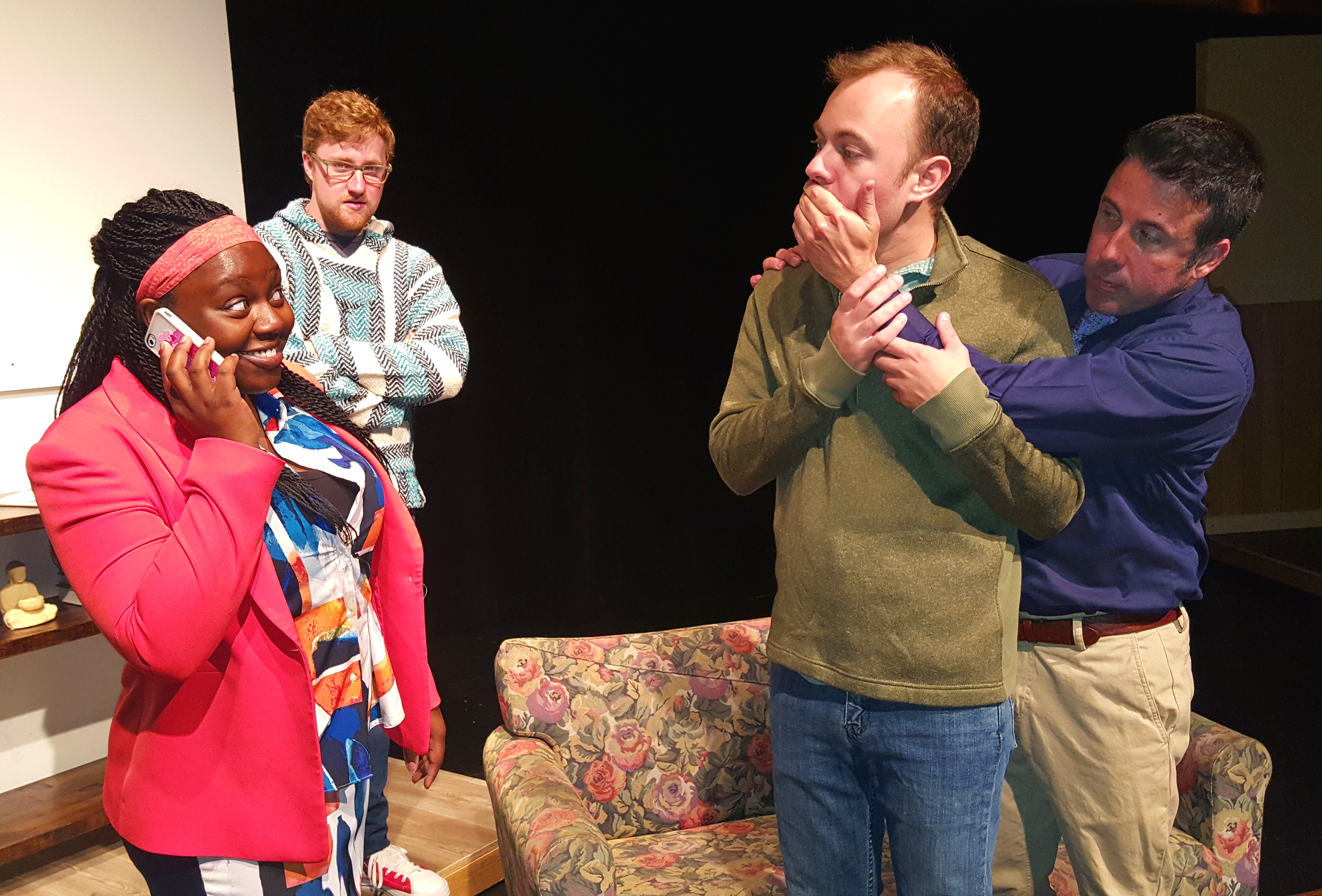 BWW Review: Playwright Imposter Goes Off-Script in THE SUBMISSION