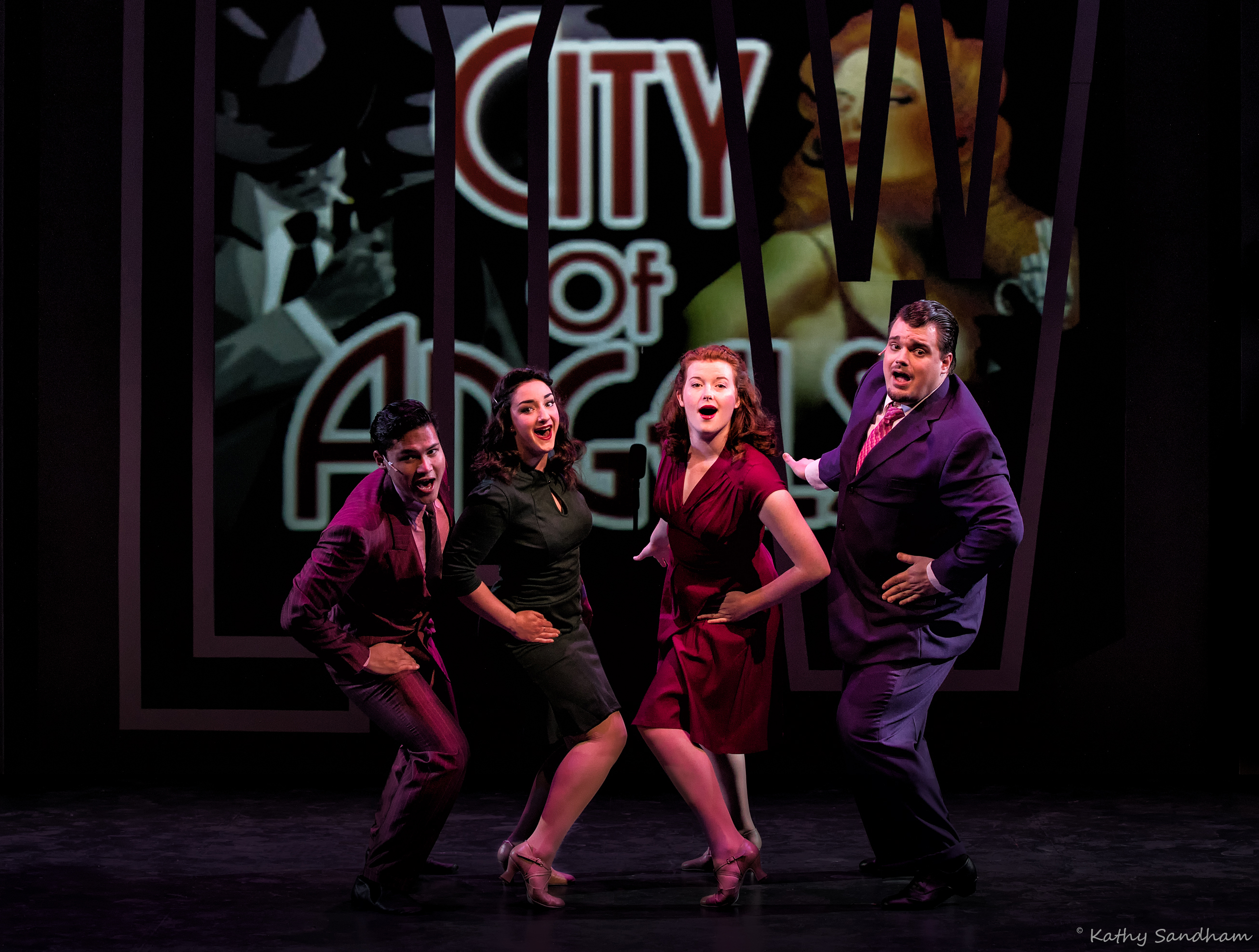 "BWW Review:  Seldom-staged ""City of Angels"" now at Beck Center for the Arts"