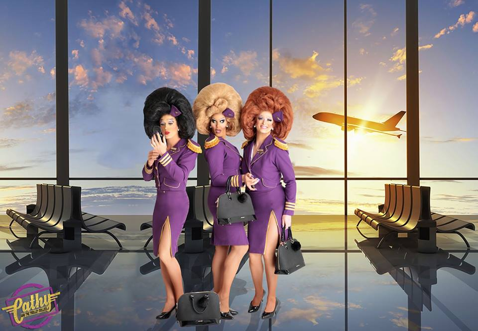 Gate69 Goes Full Throttle with CATHY AND THE TROLLEY DOLLIES, CAMP COMEDY and MACBETH! THE ADULT PANTO