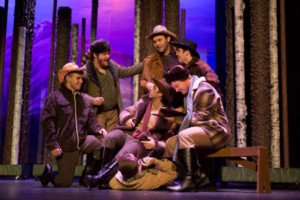 SEVEN BRIDES FOR SEVEN BROTHERS Continues at The Sauk
