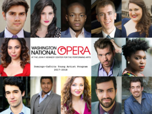 Washington National Opera Announces 2017-18 Domingo-Cafritz Young Artists
