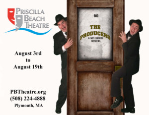 THE PRODUCERS at Priscilla Beach Theatre in August