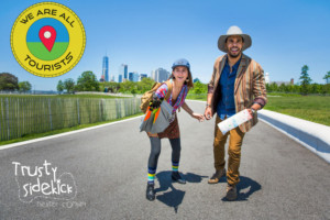 Trusty Sidekick Theater Company Presents WE ARE ALL TOURISTS