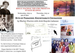 Rogue Machine Theatre to Stage Reading of BITS OF PARADISE: KOCHIYAMA'S CRUSADERS