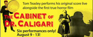 Musician Tom Teasley to Perform His Original Score Live Alongside THE CABINET OF DR. CALIGARI at Constellation Theatre Company