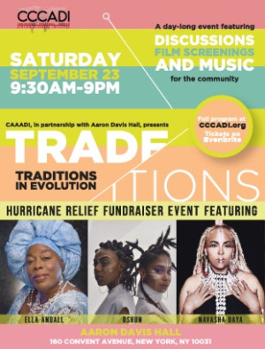Multimedia Event TRADE/ITIONS to Celebrate Sacred African Traditions