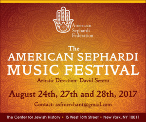 American Sephardi Music Festival Comes to the Center for Jewish History
