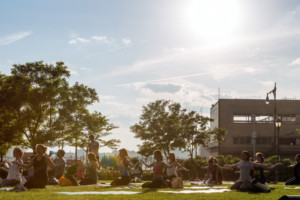 Think Globally, Act Locally! Meatpacking BID's SWEAT SESSIONS FOR GOOD Fundraiser to Support Nonprofit Yoga Foster
