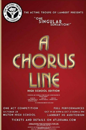 Acting Troupe of Lambert to Stage A CHORUS LINE