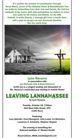 Original Off-Broadway Cast to Reunite for LEAVING LANNAHASSEE Benefit Reading