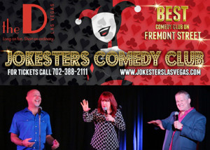 Jokesters Las Vegas Presents Triple Headliner Comedy Show