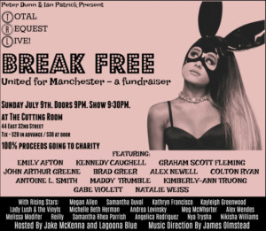 BREAK FREE: Broadway Performers to Throw Manchester Benefit Concert
