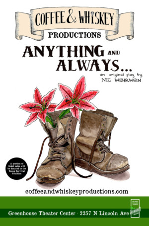 Coffee & Whiskey Productions to Present Nic Wehrwein's ANYTHING AND ALWAYS...