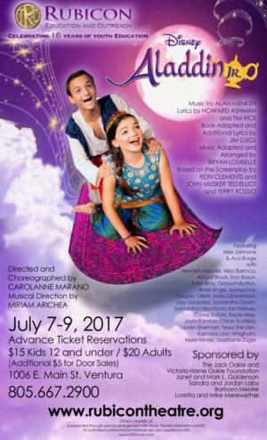 Rubicon Theatre Company's Summer Program Soars with ALADDIN JR.