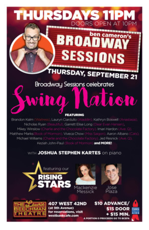 BROADWAY SESSIONS to Celebrate Swings This Week