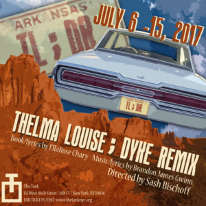 Alison Lea Bender and Courtney Daniels to Star in 'THELMA LOUISE; DYKE REMIX' at PRIDEFEST 2017 at The Tank