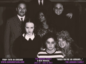 Surging Films & Theatrics to Partner with Prop Thtr for THE ADDAMS FAMILY