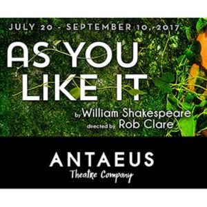 Antaeus Theatre Company Presents AS YOU LIKE IT
