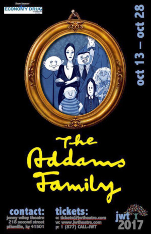 THE ADDAMS FAMILY Opens Tonight at Jenny Wiley Theatre