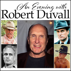 Robert Duvall to Bring Evening of Storytelling to Barter Theatre
