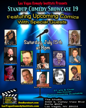 Don Barnhart's Las Vegas Comedy Institute to Present STANDUP SHOWCASE 19