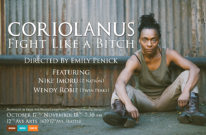CORIOLANUS: FIGHT LIKE A BITCH Announces Cast