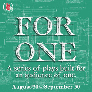 (re)discover theatre presents FOR ONE